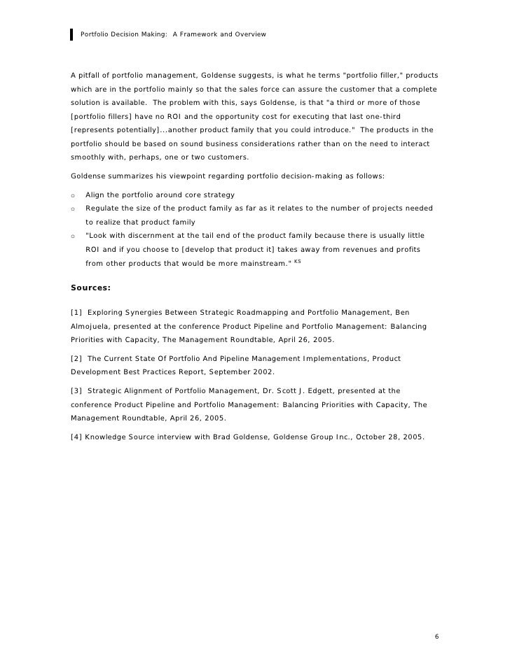 overview of research topic example