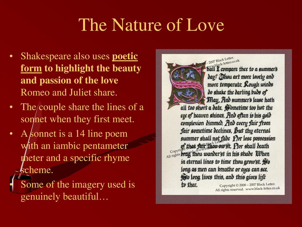 what is an example of imagery in romeo and juliet