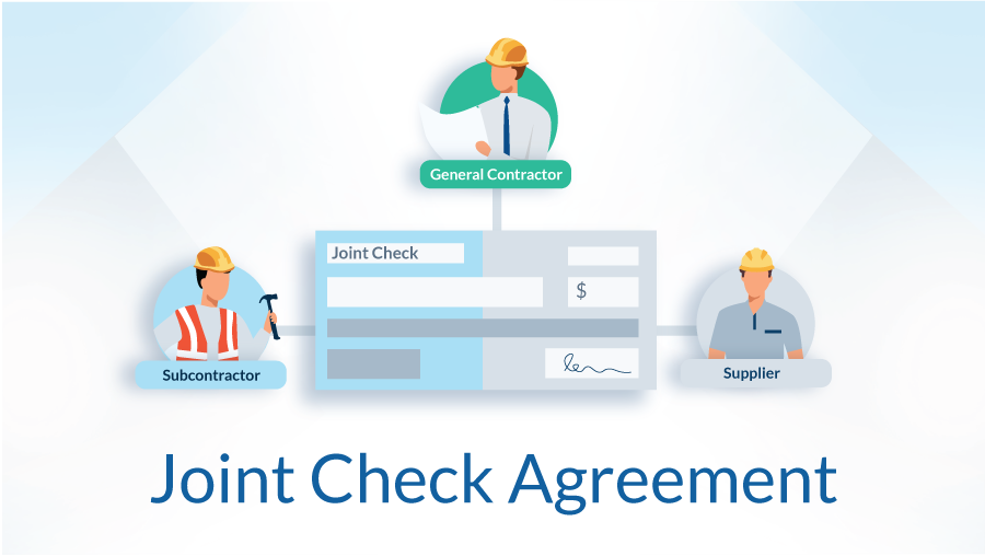 joint check agreement construction example