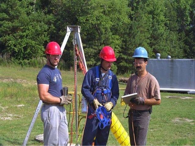 confined space entry permit example