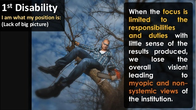 i am my position learning disability example