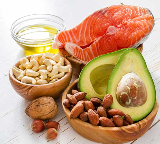 example of monounsaturated fat foods