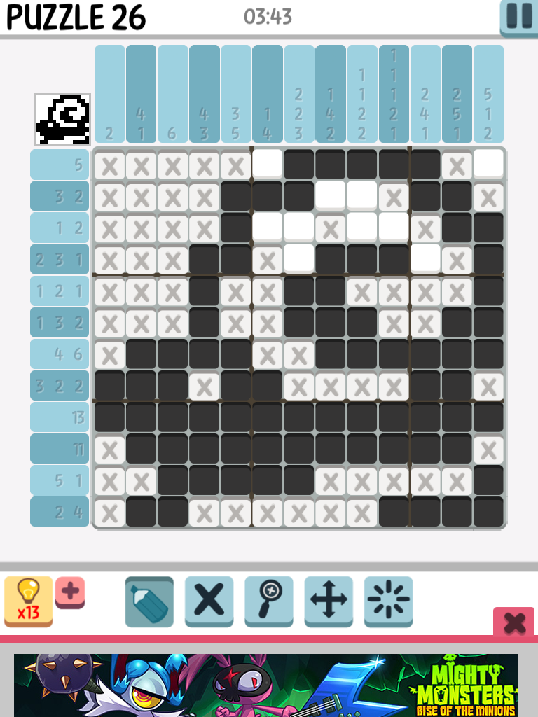 mice and whales example crossword clue