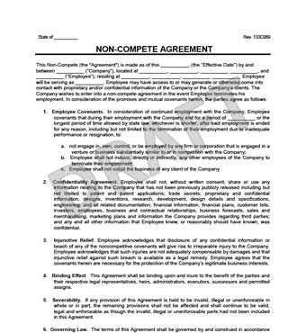 example of non solicitation clause in employment contract