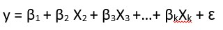 multiple linear regression equation example