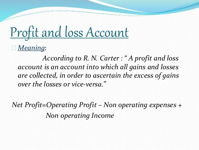gross profit definition and example